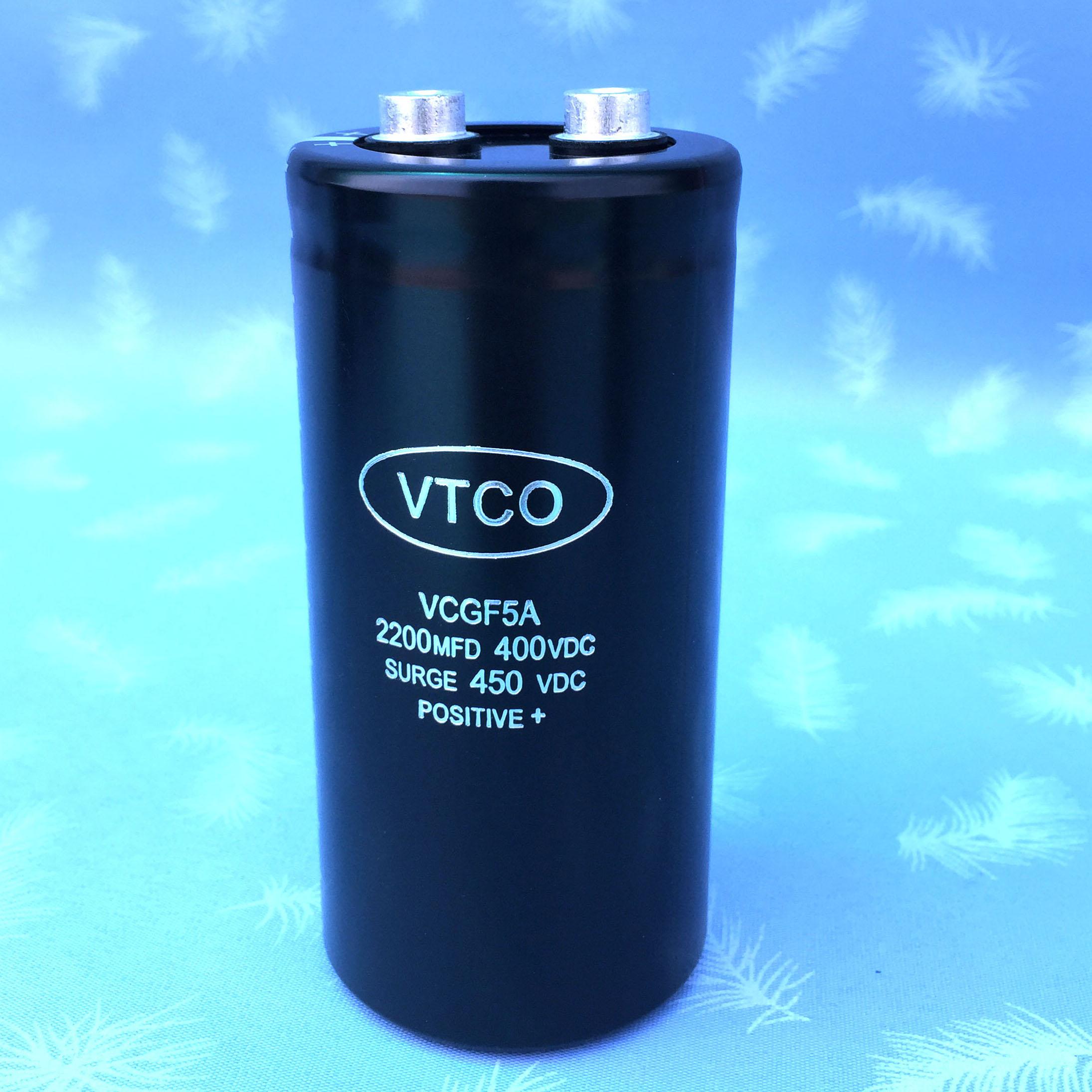 螺栓式铝电解电容400V2200UF